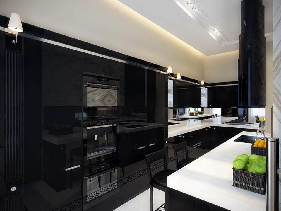 П-образная кухня №2